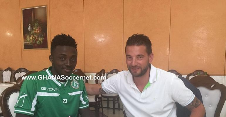 EXCLUSIVE: Ghana youth star Patrick Asmah seals loan switch to Avellino