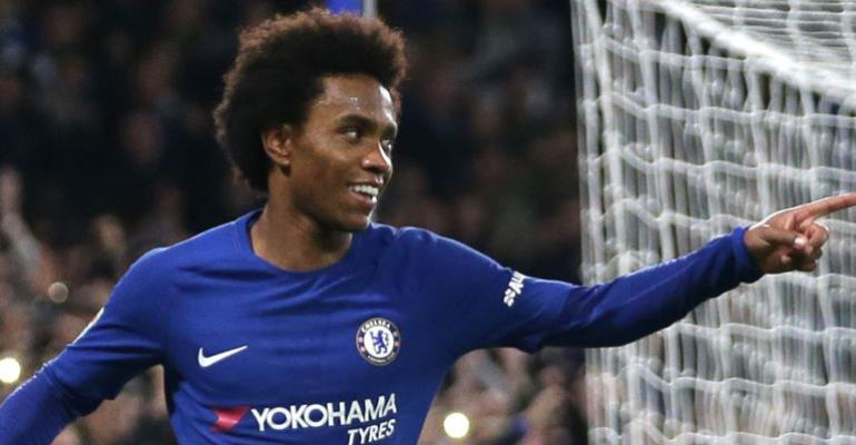 Chelsea's Willian Subject To Third Barcelona Bid In Excess Of £55m