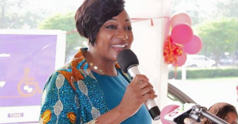 Otiko Djaba, Gender, Children and Social Protection Minister