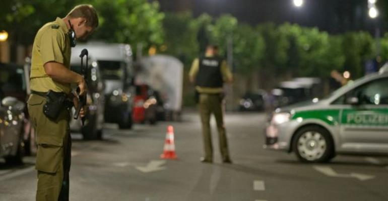 Syrian Blows Himself Up In Germany