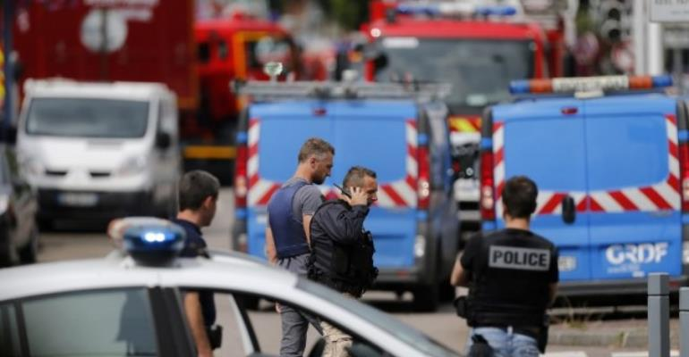 Priest Killed In French Church Attack