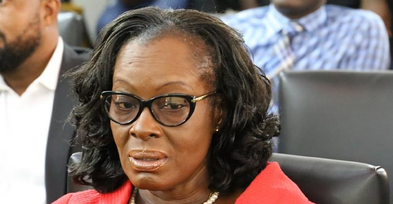 Graphic Editor Plays Mischief Against Attorney-General Gloria Akuffo