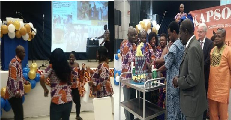 Kapsong Culture Association In Hamburg Ask All GaDangmes To Join Forces Towards Rebuilding Gt. Accra