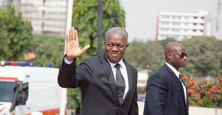 Late Vice President Paa Kwesi Amissah-Arthur