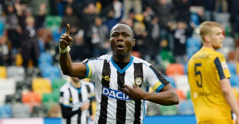 Udinese Star Emmanuel Agyemang-Badu To Miss Start Of Serie A Season