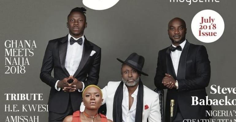 Reggie Rockstone, Kwabena Kwabena, Stonebwoy, Others Cover AGOO Magazine