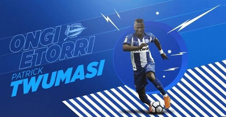 Spanish Side Deportivo Alaves Sign Patrick Twumasi
