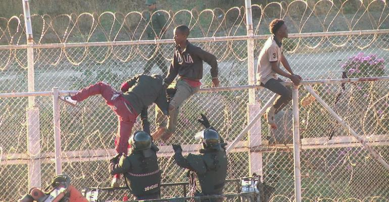 Over 600 African Migrants Violently Storm Into Spanish Exclave Region Of Ceuta