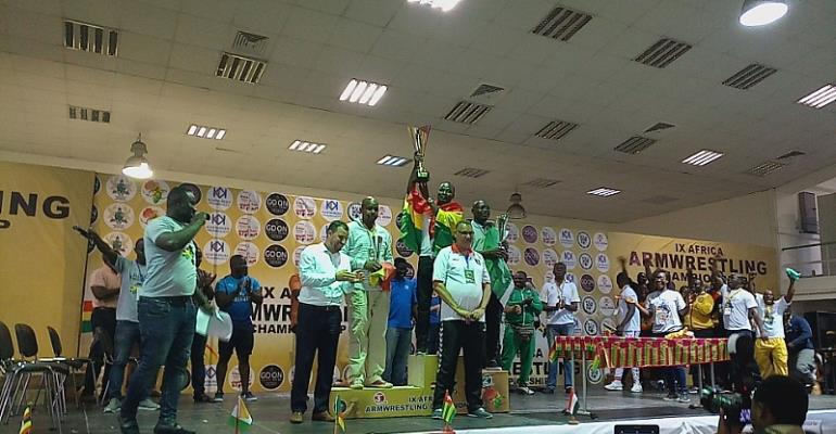 Ghana Sweeps 88 Medals At Go On Africa Armwrestling