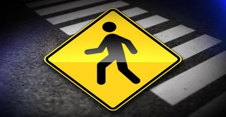 Pedestrian safety: in light of pedestrian crossing and traffic lights