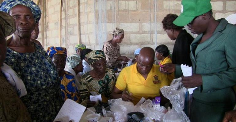 Elizabeth Foundation offers free medical check up & treatment for Widows