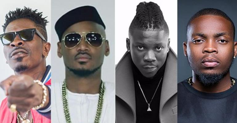 Shatta Wale, Stonebwoy, Becca To Face Off With 2Face, Olamide, Tekno in Nigeria