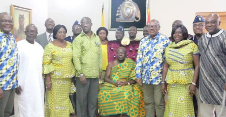 Asantehene urges GRA to intensify tax education for compliance