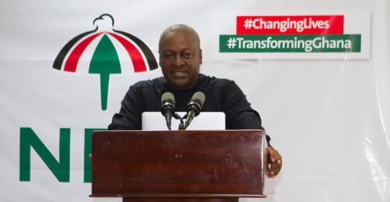 Mahama Condemns Tribal Comments By Alleged NDC Group