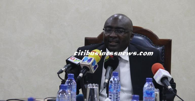 Vice Prez Bawumia demands drop in interest rates