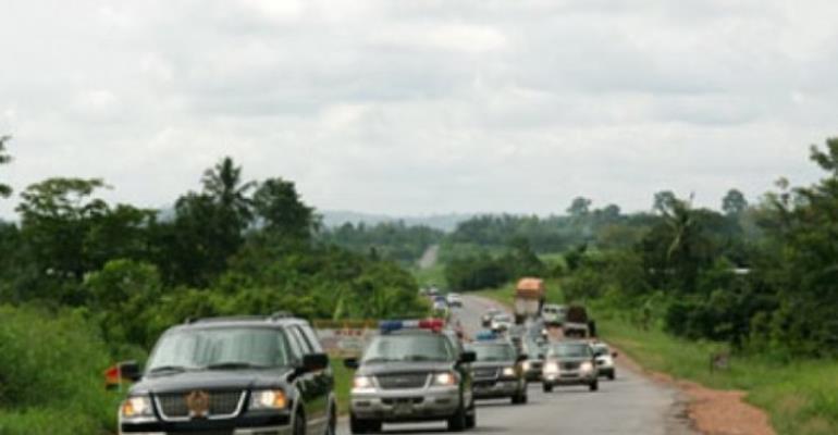 Akufo-Addo Downsizes Presidential Convoys