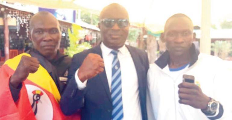 I Will Take Your Wife Away - Ugandan Boxer Taunts Allotey