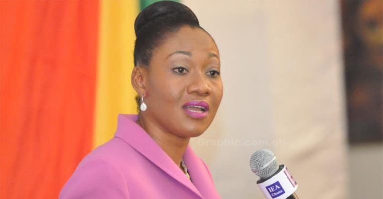 Jean Mensa – EC Chairperson