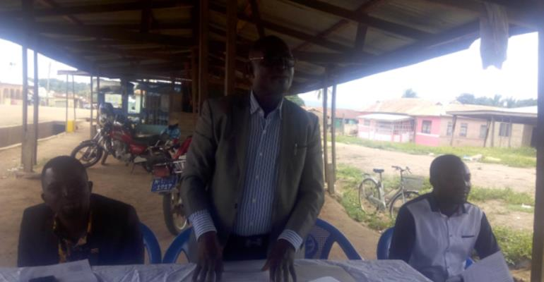 Tain District Assembly Inaugurates Menji Area Council