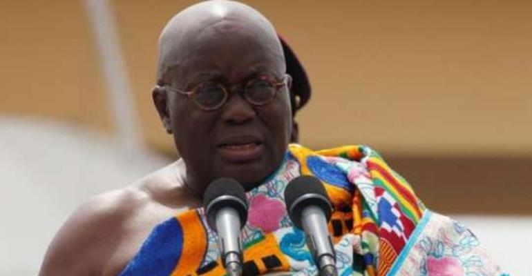 'I cannot afford to fail Ghanaians'- President