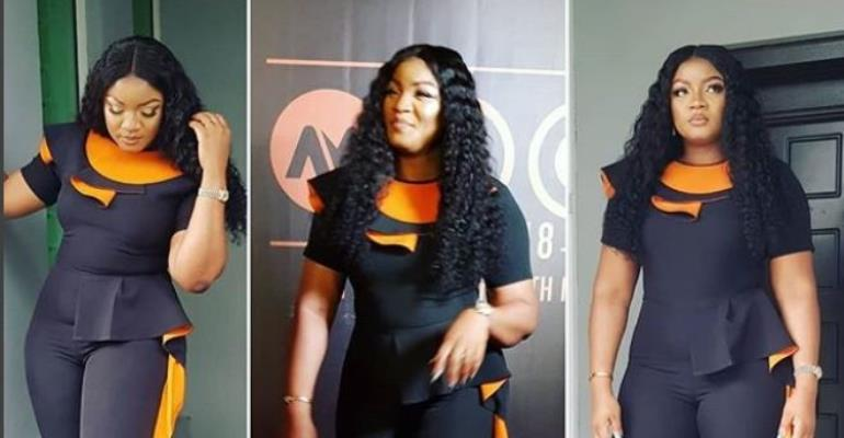 Actress, Omotola Jalade Slays at AMVCA Nominee Party
