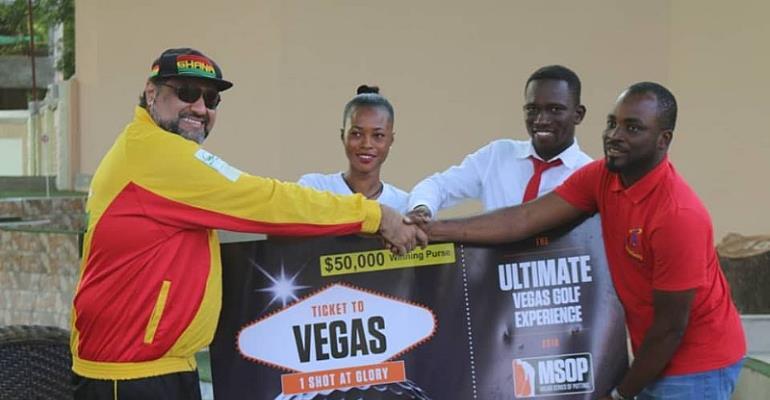 Kelvin Boateng claims 2018 Coca-Cola Africa Minigolf Open