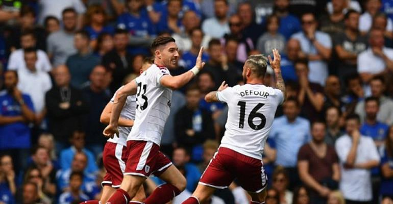 Champions Chelsea stunned at home by Burnley