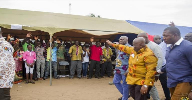 Jomoro District To Be Elevated To Municipality—Nana Addo Reveals