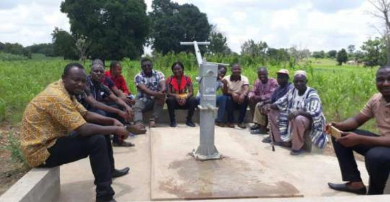 CIKOD, partners provide water infrastructure for dry-season gardening