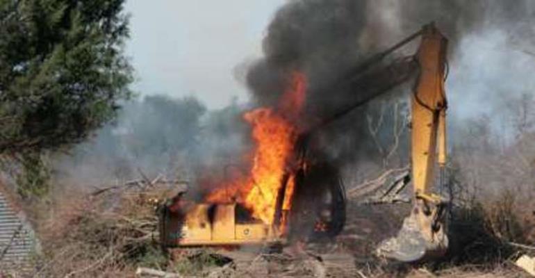 Operators provoked us to burn excavators – Galamsey Task-Force