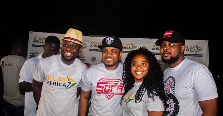 Dr. Cryme Eulogized @ 2nd Play Africa BonFIRE Night With The Stars