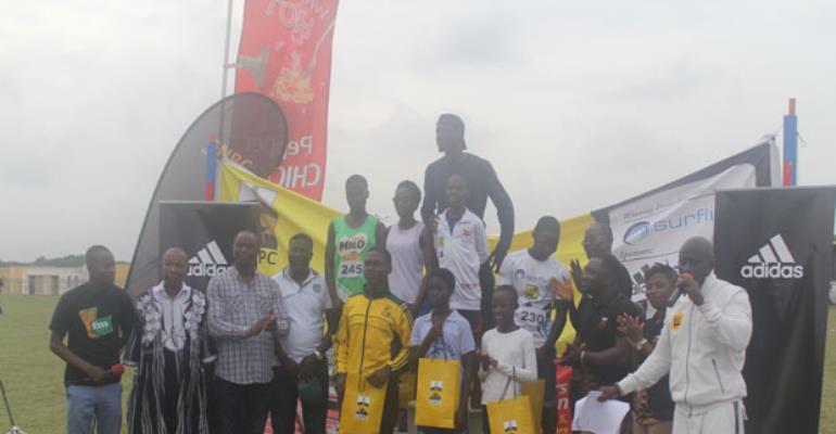 GNPC Ghana's Fastest Human Accra Meet Ends On High