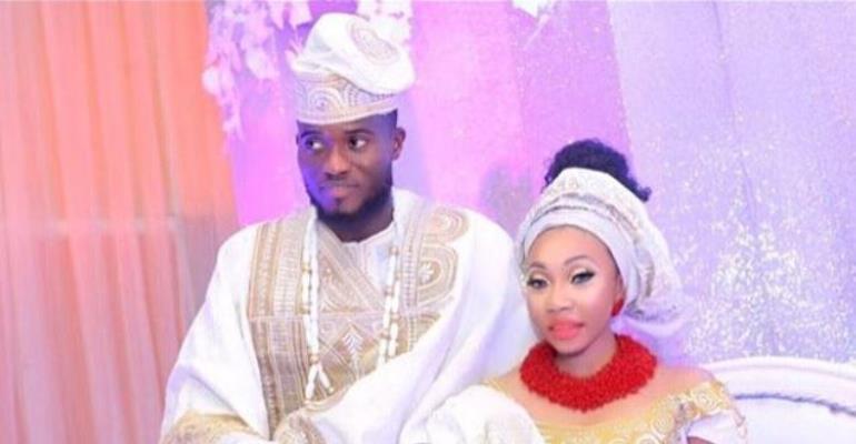 Actor, Mustapha Ololade Celebrates 1year Wedding Anniversary