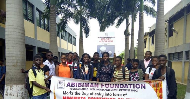 Abibiman Foundation Welcomes Into Force Legally Binding Of The Minamata Convention On Mercury