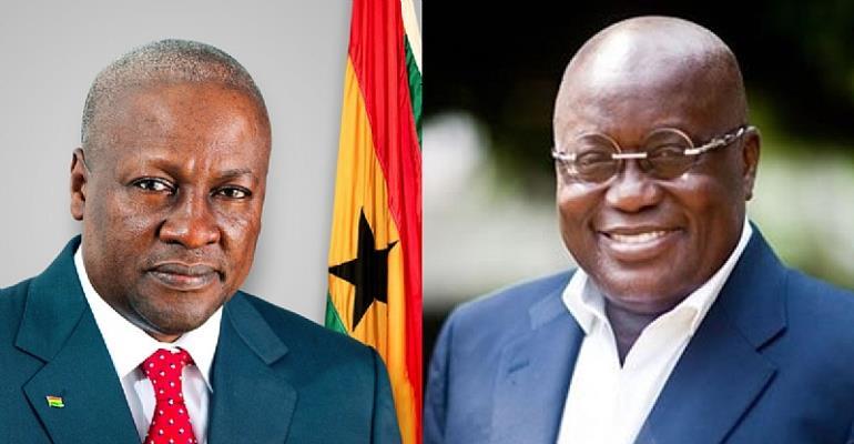 Nana Addo Versus Mahama: A David and Goliath Affair!