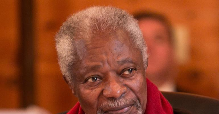 Late Kofi Annan