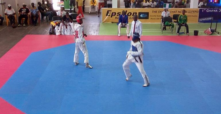 1st Ghana Taekwondo Open Ends Successfully In Accra...Cote D'Voire And Niger Steal Show