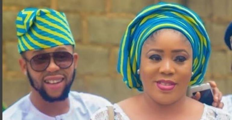 I Can do Anything for My Wife…Actor, Sunkanmi Omobolanle
