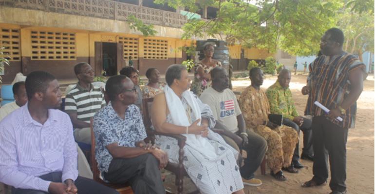 Abongobi Radio And Its Listeners Donates To A.M.E Zion School Korle Gonno