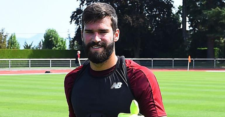 Alisson Set to Make Liverpool FC Debut on Saturday vs Napoli