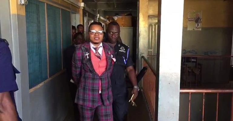 Police whisk away Bishop Obinim in handcuffs [Video]