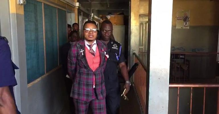 Police whisk away Bishop Obinim in handcuffs [Video]