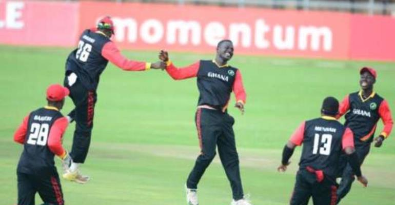 Ghana Cricket team leaves on Wednesday for World Cricket tourney