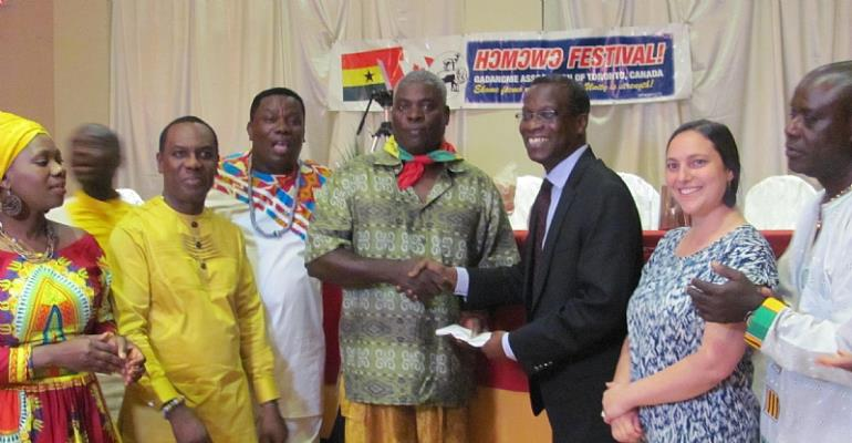 Ga Damgbe Association Of Toronto Donates To Sickkids Foundation-Ghana