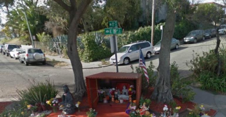 Buddha Statue Brought Neighbourhood Crime Down By 82%
