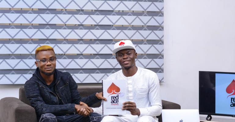 Another Artiste 'JayDrillz' Joins RedAce Management Company