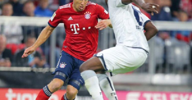 Bayern Munich Hands Kasim Nuhu And Hoffeinham Open Day Defeat