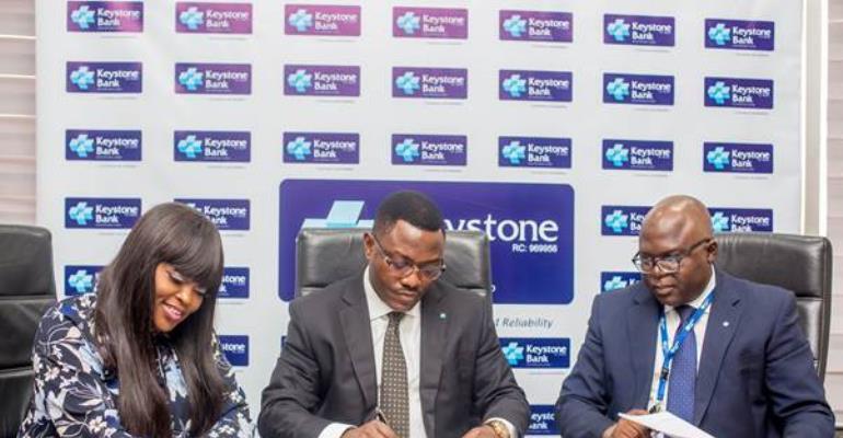 Keystone Bank signs Actress, Funke Akindele as brand ambassador