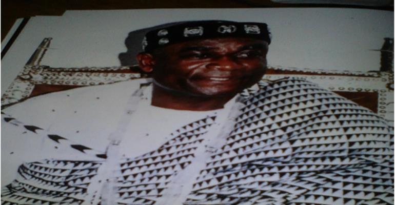 The late Togbi Kporku