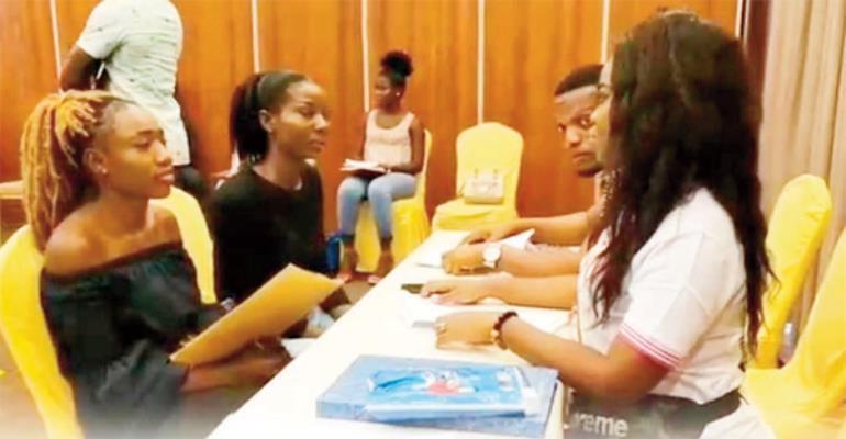 Virgins audition for Miss Ghana 2018